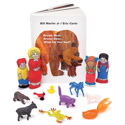Brown Bear, Brown Bear, What Do You See? 3-D Storybook