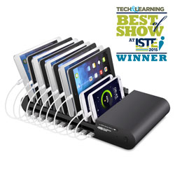 10-Port USB Charging Station